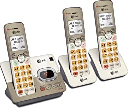 AT&T EL52313 3-Handset Expandable Cordless Phone with Answering System & Extra-large Backlit Keys photo