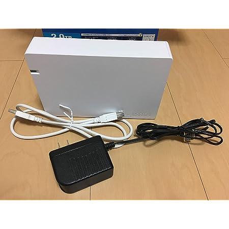I-O DATA テレビ録画対応 USB 2.0/1.1接続 外付型ハードディスク ホワイト 2.0TB HDCA-U2.0CWB