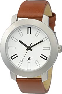 Fastrack Casual Analog White Dial Watch for Men -NK3120SL01