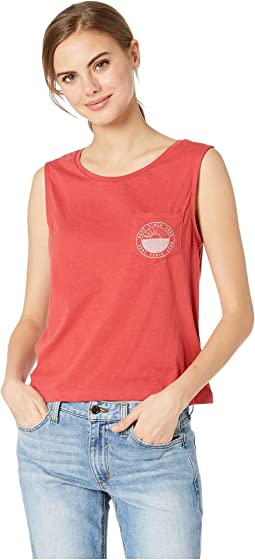 Uluwatu Sunset Sleeveless Tee