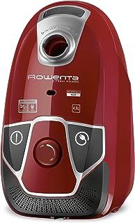 Rowenta X-Trem Power RO6843 - Aspirador con etiqueta energética AABA, triple filtración con bolsa de 4,5 l de capacidad, cepillo Deep Clean con dos posiciones y ranuras, tubo telescópico, 75 dB(A)
