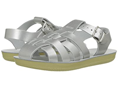 Salt Water Sandal by Hoy Shoes Sun-San Sailors (Toddler/Little Kid) (Silver) Girls Shoes