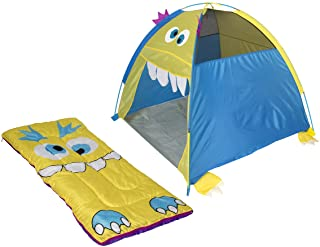 """Pacific Play Tents 2080 Friendly Monster Dome Tent/Bag, 48"""" x 48"""" x 42"""""""