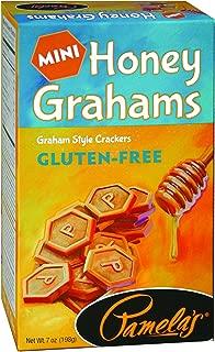 Pamela's Products Gluten Free Graham Crackers, Honey Minis, 7 Ounce