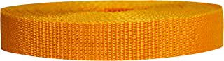 Strapworks Lightweight Polypropylene Webbing - Poly Strapping for Outdoor DIY Gear Repair, Pet Collars, Crafts – 3/4 Inch by 10, 25, or 50 Yards, Over 20 Colors