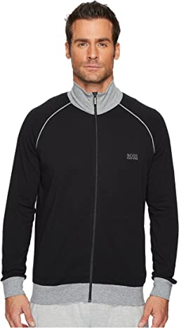 BOSS Hugo Boss Stretch Cotton Zip Jacket