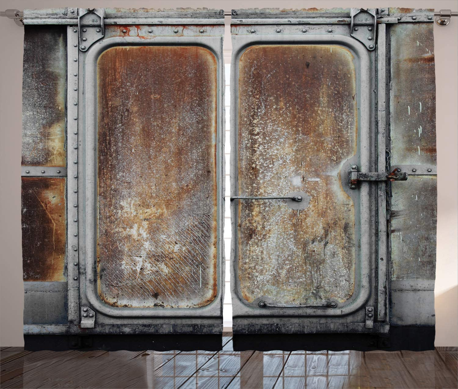 Industrial Curtains Old-Fashioned Albuquerque Mall Weekly update Railway Doors Container Old