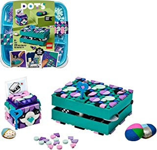 LEGO 41925 DOTS Secret Boxes Jewellery Box Set, Room Décor & Desk Accessories, Arts and Crafts for Kids