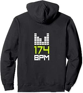Drum and Bass 174 BPM DnB Music Liquid Junglist EDM Pullover Hoodie