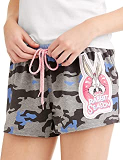 Bugs Bunny Rabbit Season Women's Pajama Boxer Shorts