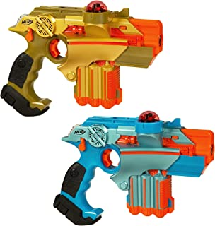 Nerf Official: Lazer Tag Phoenix LTX Tagger 2-pack - Fun Multiplayer Laser Tag Game for Kids & Adults, Ages 8 & Up (Amazon Exclusive) (Renewed)