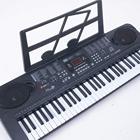 Teclado Electrónico 61 Teclas Micrófono Micrófono Piano ...