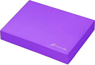 ProsourceFit Exercise Balance Pad - Non-Slip Cushioned Foam Mat & Knee Pad for Fitness & Stability Training, Yoga, Physical Therapy 15.5
