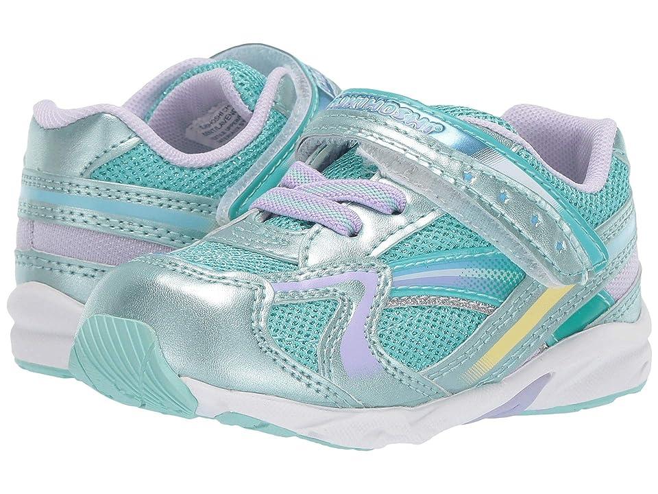 Tsukihoshi Kids B. Glitz (Toddler) (Mint/Lavender) Girls Shoes