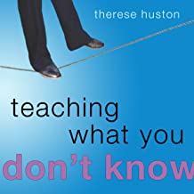 Teaching What You Dont Know
