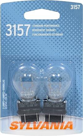 Sylvania 168 Foco miniatura básico, (contiene 2 focos), 3157