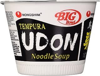 NongShim Tempura Udon Noodle Bowl, 4.02-Ounce Big Bowls (Pack of 12)