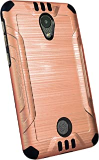DALUX Combat Phone Case Compatible with Coolpad Legacy S - Rose Gold/Black