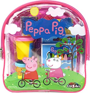 Cra-Z-Art Peppa Pig Ultimate Activities Backpack Building Kit, Colors May Vary