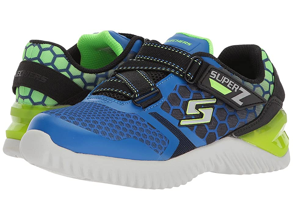 SKECHERS KIDS Ultrapulse (Little Kid/Big Kid) (Black/Blue/Lime) Boys Shoes