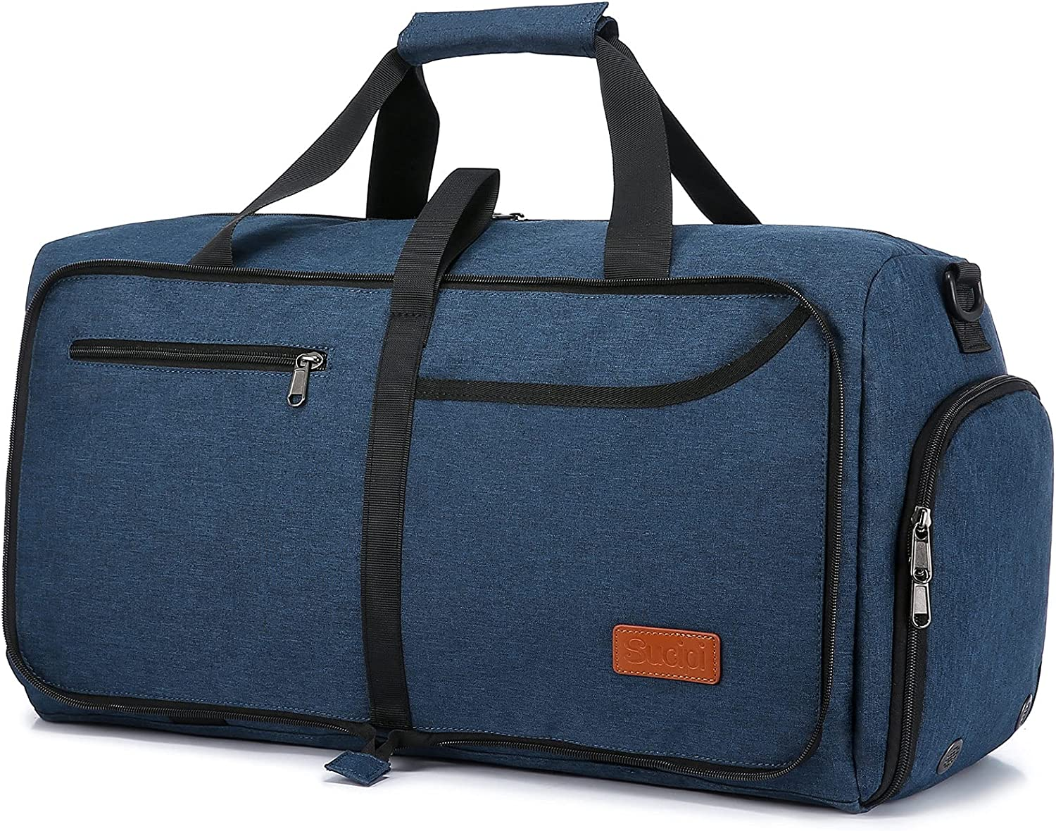 Sucipi Max 79% OFF Travel Duffel Bag Foldable Courier shipping free Weekender Com with Shoes