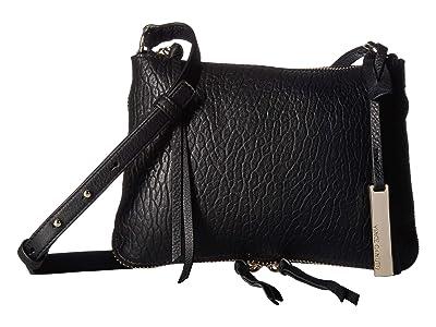 Vince Camuto Ida Small Crossbody (Black) Cross Body Handbags