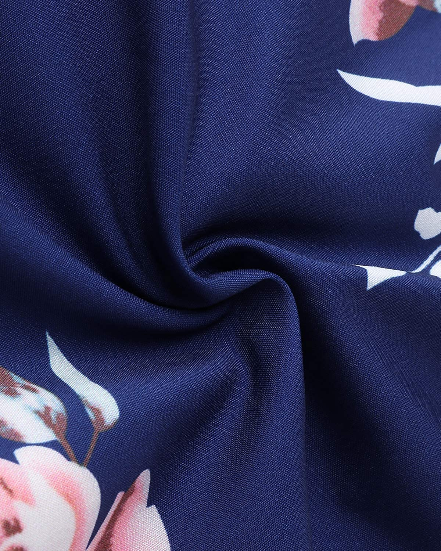 Auxo Women Jumper Harem Jumpsuit V Neck Summer Romper One Piece Jumpsuit Playsuit