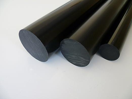 L: 25mm - Kunststoffstab auf Zuschnitt POM Rundstab natur /Ø 8mm 2,5cm