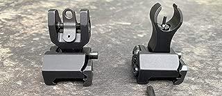 NTC ELITE Iron Sight Set FLIP UP HK Style Sight Set Black Edition