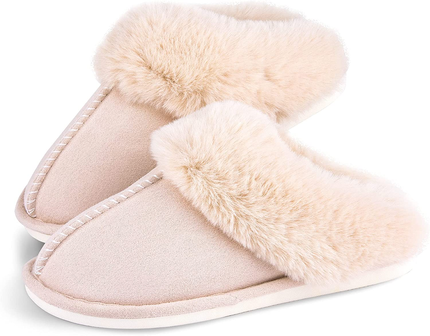 Womens Slippers Cozy Milwaukee Mall Warm Winter Slip Shoes On Safety and trust Fluffy Soft House