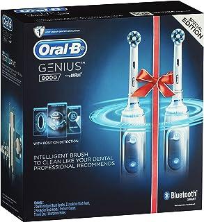 Oral-B Genius 8000 Dual Handle White Electric Toothbrush