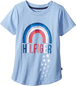 Tommy Hilfiger Kids - Rainbow Tee (Big Kids)