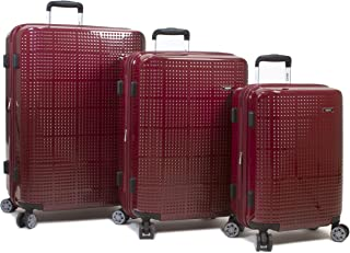 Dejuno Speck Hardside 3-Piece Expandable Spinner Luggage Set
