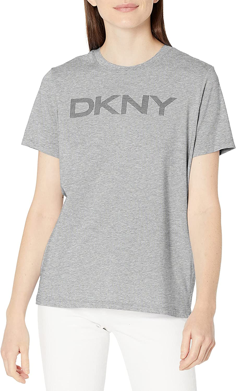 DKNY Damen Logo Tee T-Shirt