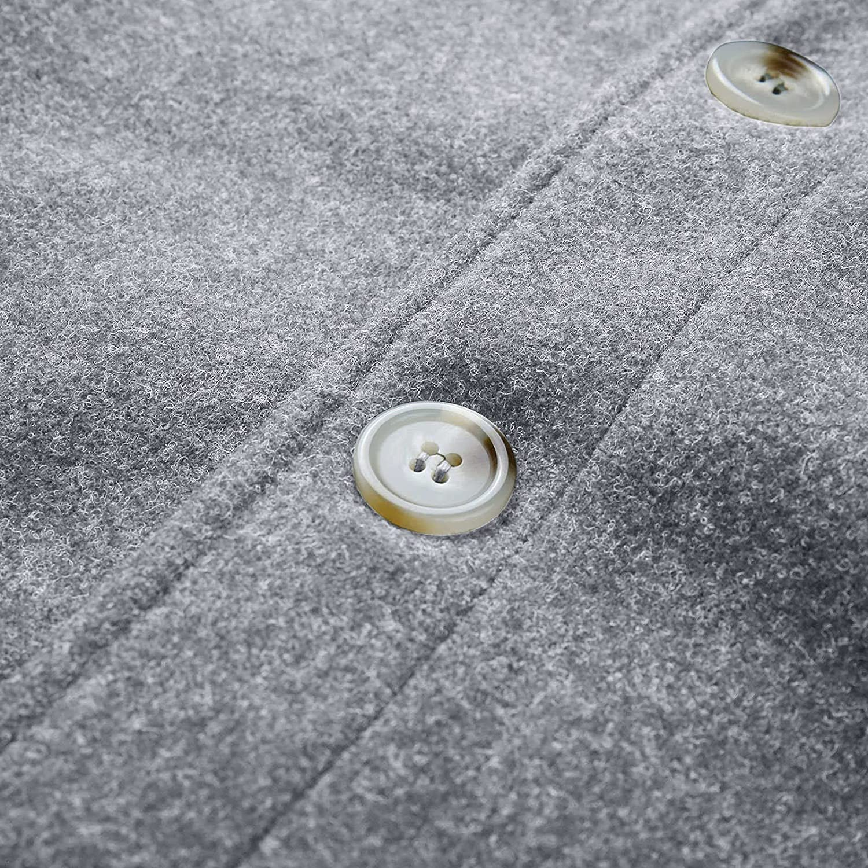 Lightweight Jackets for Men 2021, Casual Plus Size Fall Jacket Coat Men Button Down Jacket Oversized Sport Peacoat