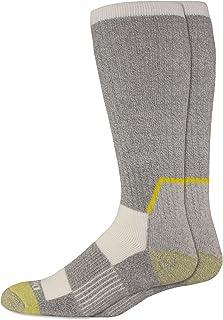 Dickies mens Kevlar Reinforced Steel Toe Crew Socks