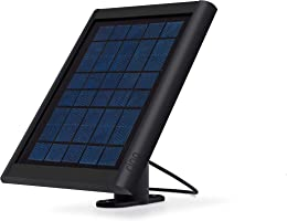 Ring Solar panel Black- Compatible with Ring Spotlight Cam Battery and Stick Up Cam Battery