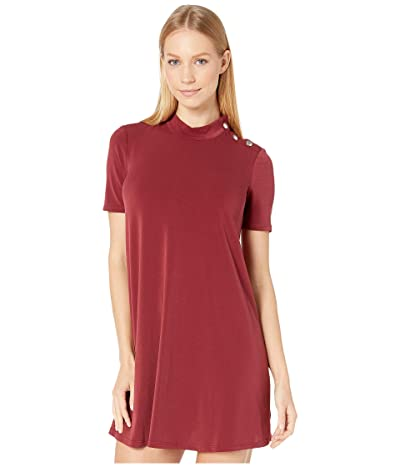 BCBGeneration A-Line Dress (Deep Red) Women