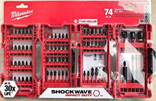 Milwaukee Shockwave Impact Driver Bit Set (74 Piece) 48-32-4062
