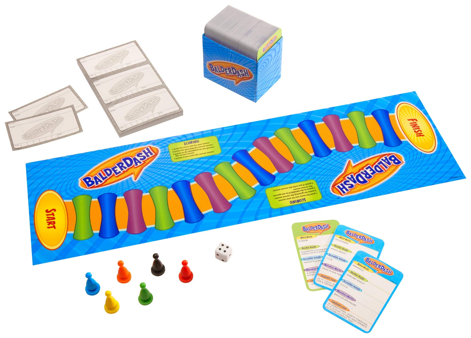 Mattel Games Balderdash, Multicolor, CFX43