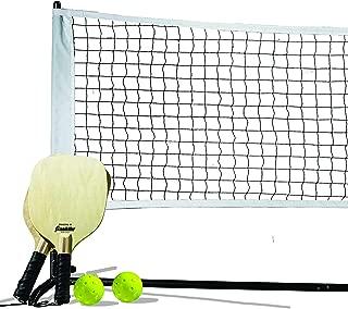 Franklin Sports Pickleball Starter Set - Official Starter Set of The US Open - Includes Net, (2) Paddles, and (2) X-40 Pickleballs