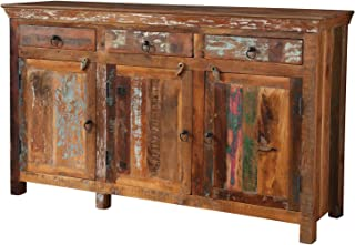 Coaster Home Furnishings 3-door Accent Cabinet Reclaimed Wood
