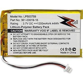 Batería batería Pack para Garmin nüvi 1390t