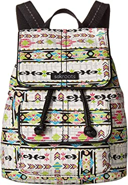 Artist Circle Mini Flap Backpack