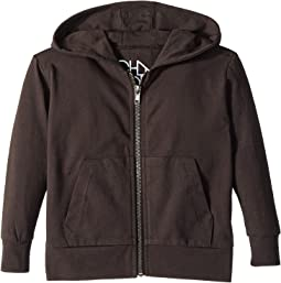 Chaser Kids - Cotton Jersey Zip-Up Hoodie (Toddler/Little Kids)