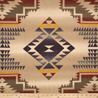 Baum Textiles Winter Fleece Windrunner Tan Fabric By The Yard, Tan