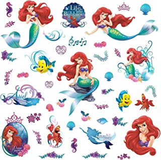 RoomMates The Little Mermaid Peel And Stick Wall Decals