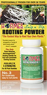 Hormex Rooting Hormone Powder #3 | for Moderately Easy to Root Plants | Fast IBA Rooting Powder Compound for Strong and Healthy Roots