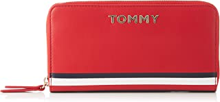 Tommy Hilfiger Corporate Large ZA Wallet, Red, AW0AW07736
