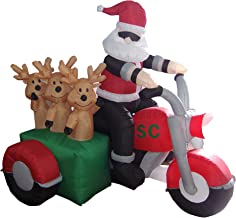 Best santa claus on a harley Reviews